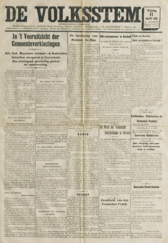 De Volksstem 1938-03-11