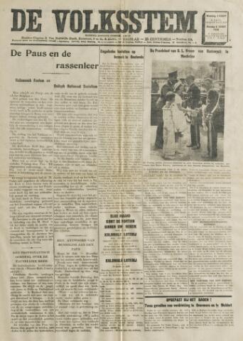 De Volksstem 1938-08-01