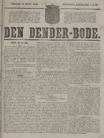 De Denderbode 1848-06-11