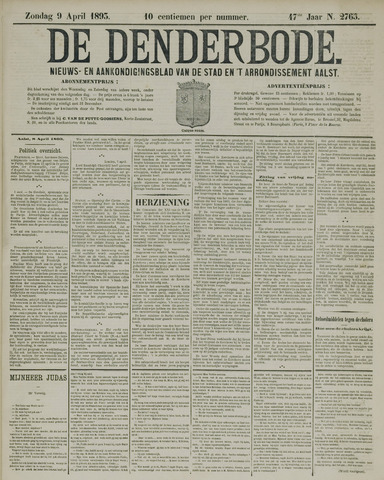 De Denderbode 1893-04-09