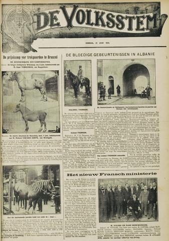 De Volksstem 1914-06-21