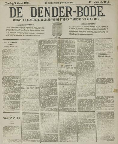 De Denderbode 1890-03-09