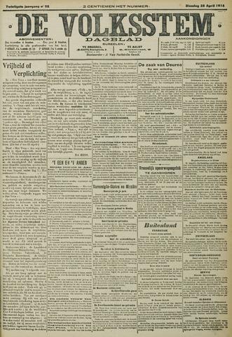 De Volksstem 1914-04-28