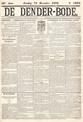 De Denderbode 1882-12-31