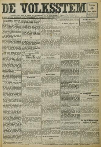 De Volksstem 1930-01-10