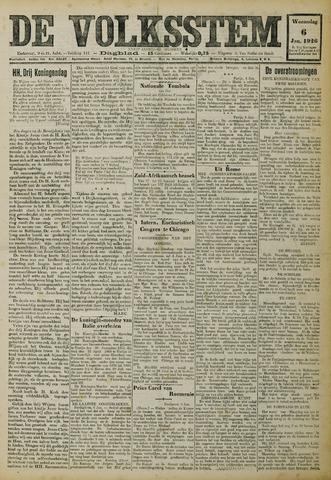 De Volksstem 1926-01-06