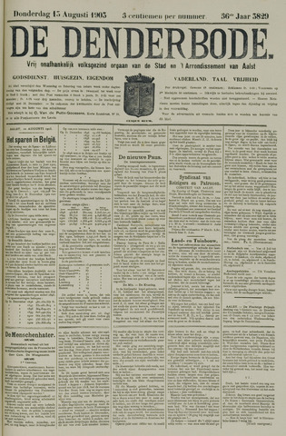 De Denderbode 1903-08-13