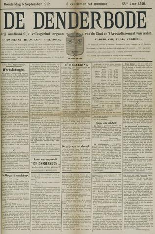 De Denderbode 1912-09-05