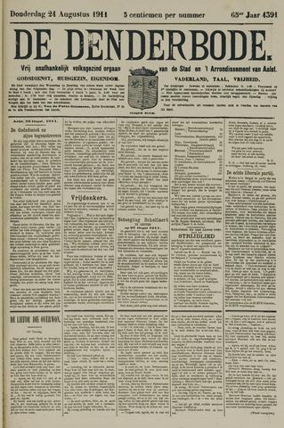 De Denderbode 1911-08-24