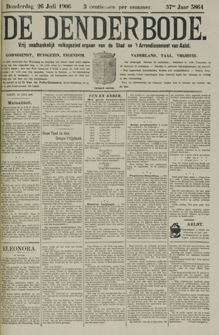 De Denderbode 1906-07-26