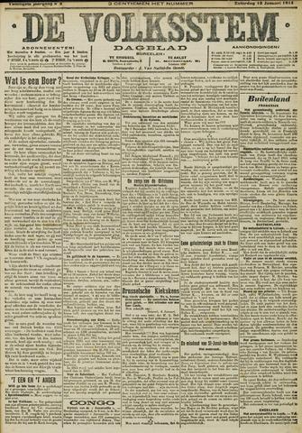 De Volksstem 1914-01-10