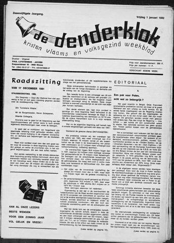 Denderklok 1982