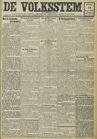 De Volksstem 1931-08-11