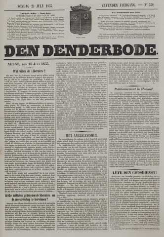 De Denderbode 1853-07-24
