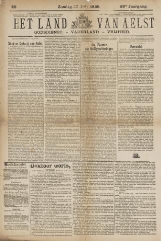 Het Land van Aelst 1888-07-22