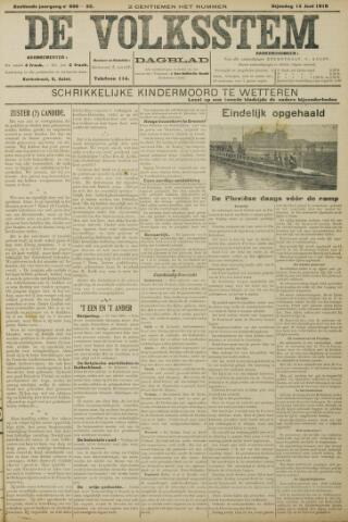 De Volksstem 1910-06-14