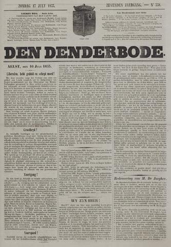 De Denderbode 1853-07-17