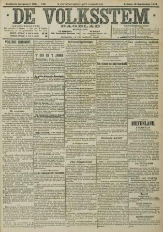 De Volksstem 1910-09-16