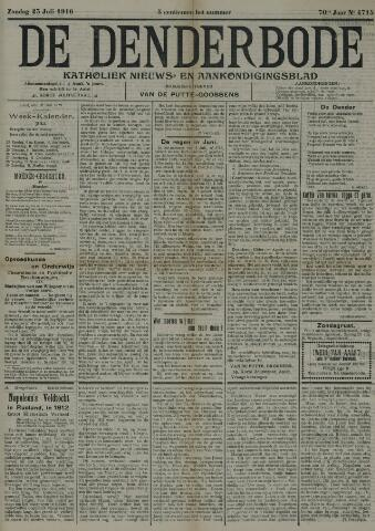 De Denderbode 1916-07-23