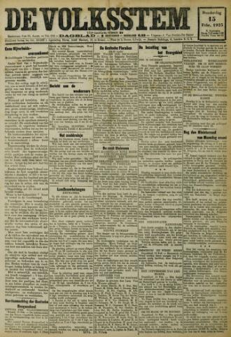 De Volksstem 1923-02-15