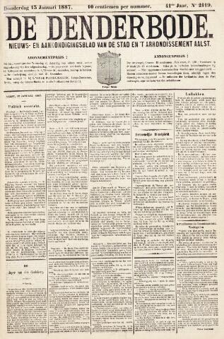 De Denderbode 1887-01-13