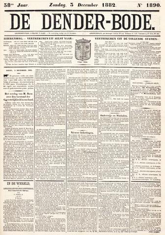 De Denderbode 1882-12-03