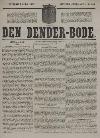 De Denderbode 1850-07-07