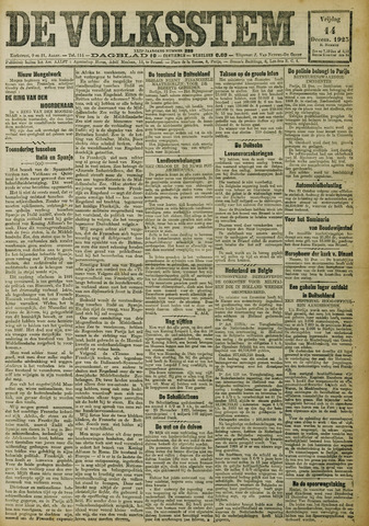 De Volksstem 1923-12-14