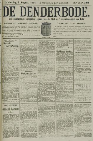 De Denderbode 1904-08-04