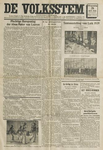 De Volksstem 1938-10-26
