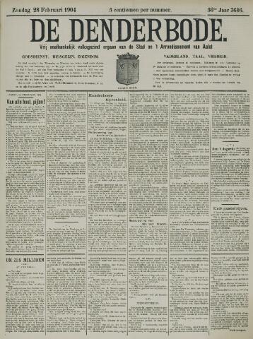 De Denderbode 1904-02-28
