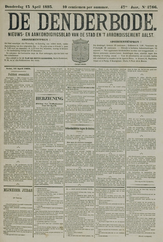 De Denderbode 1893-04-13