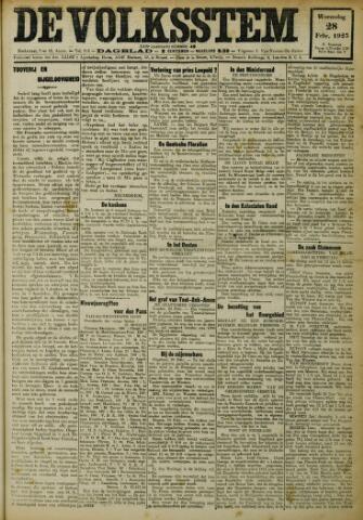 De Volksstem 1923-02-28