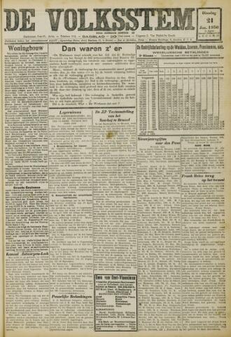 De Volksstem 1930-01-21
