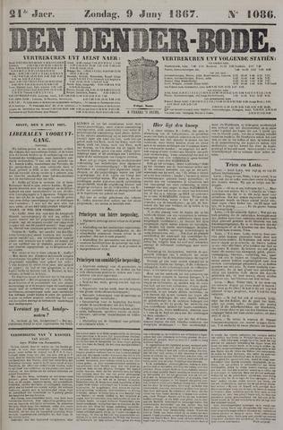 De Denderbode 1867-06-09