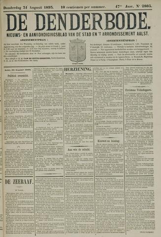 De Denderbode 1893-08-31