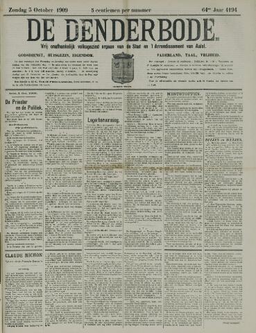 De Denderbode 1909-10-03