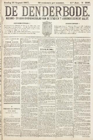 De Denderbode 1887-08-21