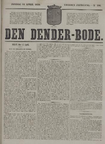 De Denderbode 1850-04-14