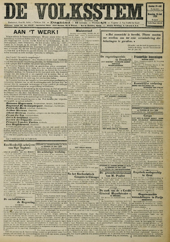 De Volksstem 1926-07-25