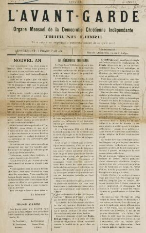l' Avant-Garde 1907