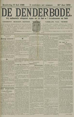 De Denderbode 1902-07-17