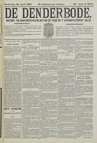 De Denderbode 1894-04-26