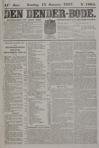 De Denderbode 1867-01-13