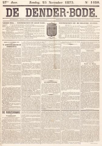 De Denderbode 1873-11-23