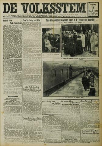 De Volksstem 1932-08-05