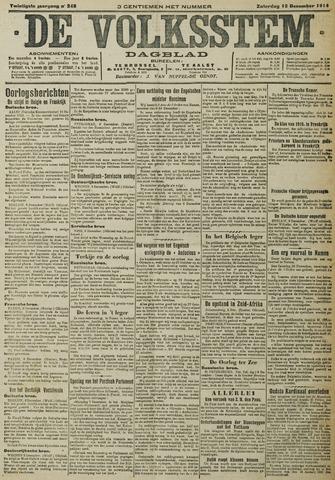 De Volksstem 1914-12-12