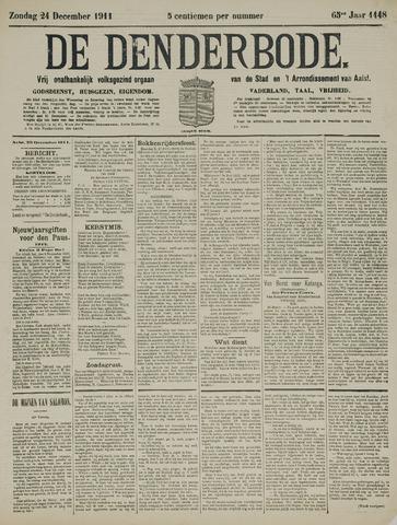 De Denderbode 1911-12-24