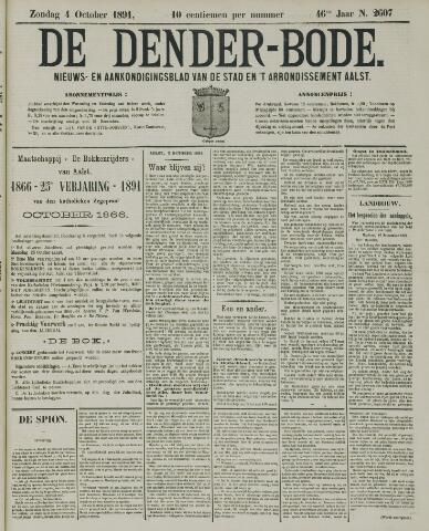 De Denderbode 1891-10-04