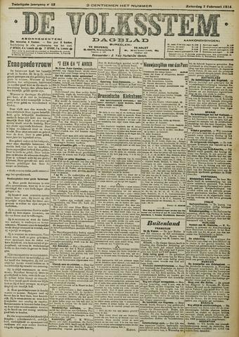De Volksstem 1914-02-07